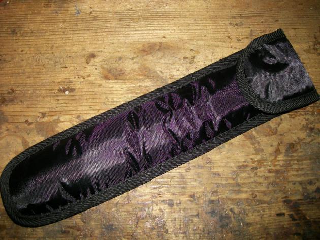 Tin Whistle Hülle schwarz, Premium