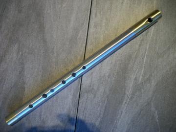 Alpha1 Low Whistles aus Aluminium in Low C, D, F, G, E, Eb Stimmung